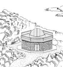 Vista prospettica dell'Osservatorio