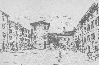 Piazza di Castiglione dei Pepoli (BO)